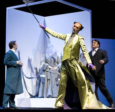 Alexander Kröner - Goro in MADAMA BUTTERFLY (Staatstheater Mainz)