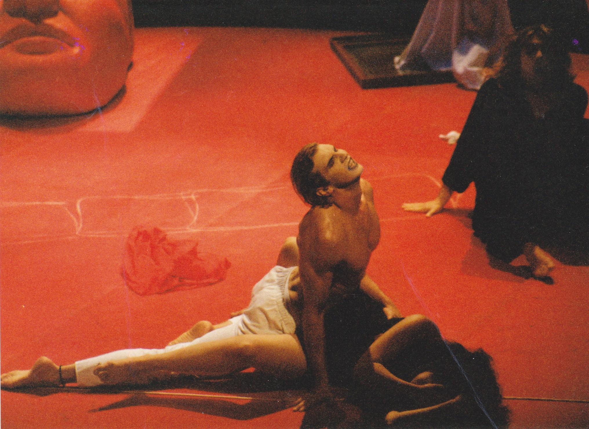 Robert Chionis - Tarquinius in RAPE OF LUCRETIA (Wiener Taschenoper)