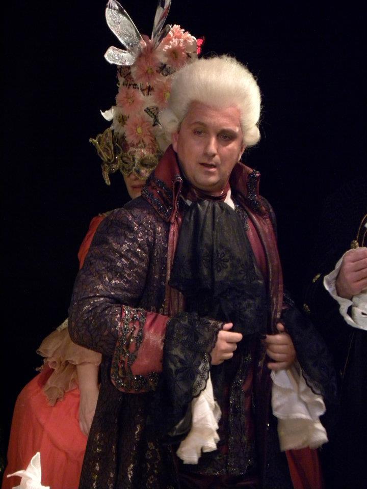 Matjaž Stopinšek - Sultan Suleiman in TAUSEND UND EINE NACHT (Theater Baden)