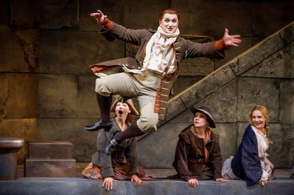 Matjaž Stopinšek - Graf René in MADAME POMPADOUR (Theater Baden)
