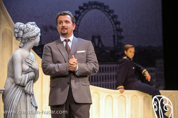 Matjaž Stopinšek - Georges Duménil in DER OPERNBALL (Theater Baden)