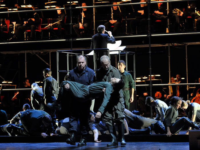 Michael Leibundgut - Torturato in INTOLLERANZA 1960 (Teatro La Fenice)