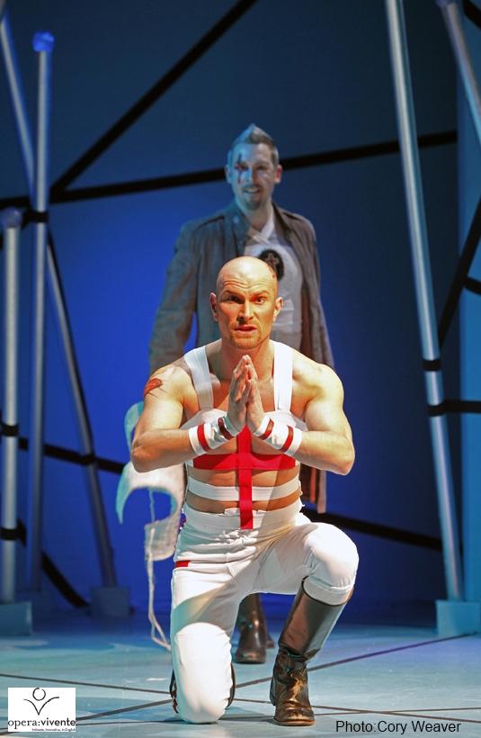 Daniel Bubeck - title role in RINALDO (Opera Vivente)