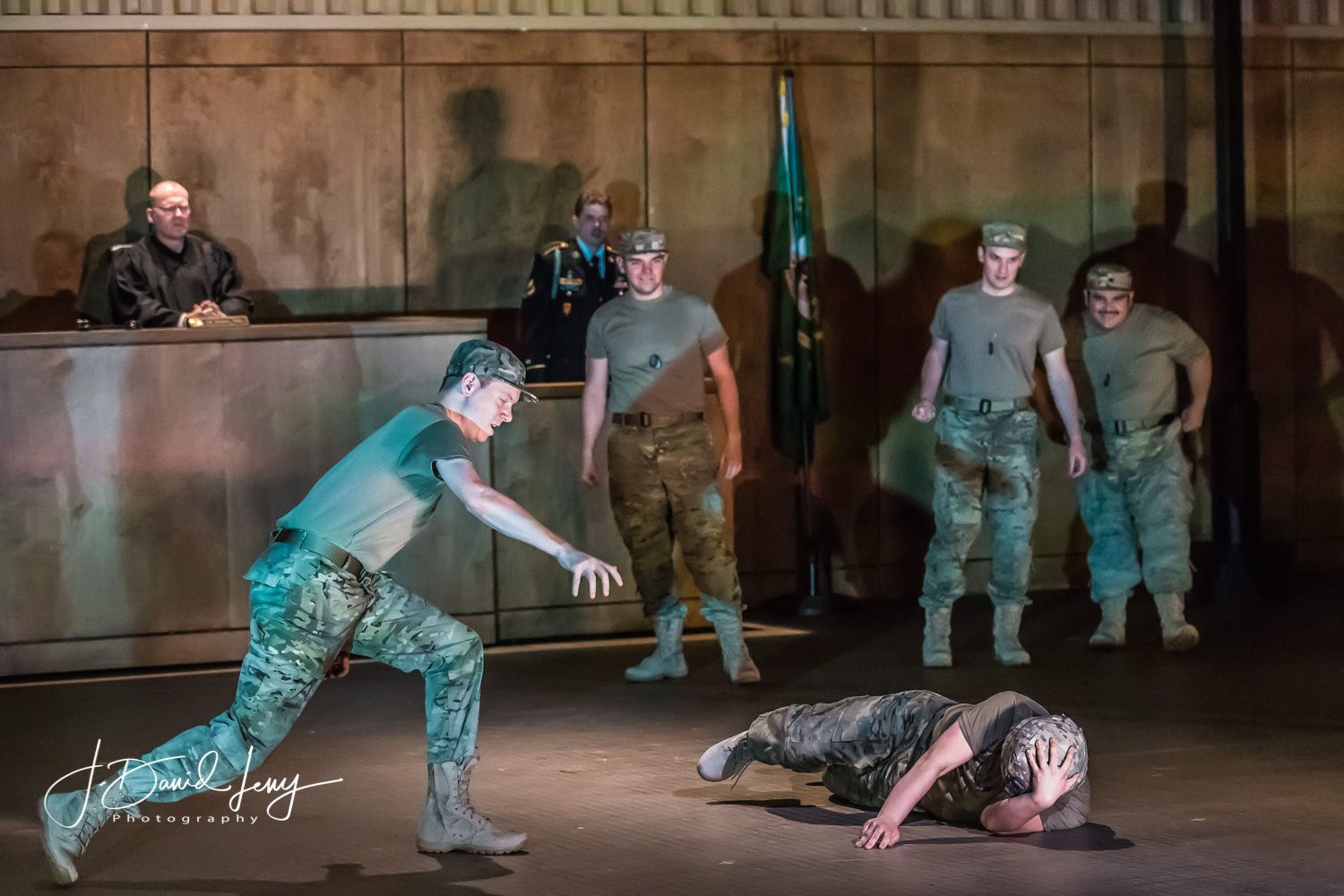 Andrew Munn - Specialist Swanson in AN AMERICAN SOLDIER (Opera Theatre of Saint Louis)