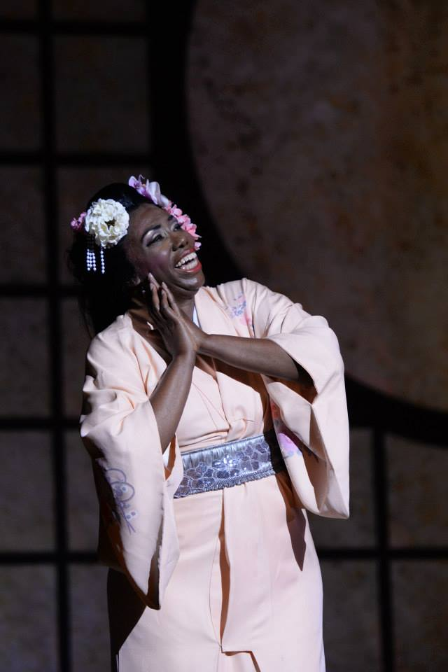 Hope Briggs - Cio Cio San in MADAMA BUTTERFLY (Opéra Louisiane)