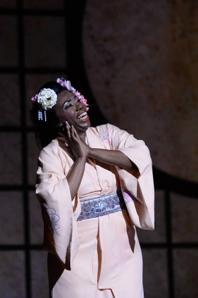 Hope Briggs - Cio Cio San in MADAMA BUTTERFLY (Opéra Louisiane)