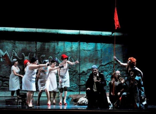 Haakon Schaub - Dreieinigkeitsmoses in DER AUFSTIEG UND FALL DER STADT MAHAGONNY (Teatro Goldoni)