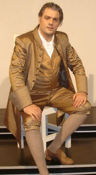 Haakon Schaub - Musiklehrer in ARIADNE AUF NAXOS (Staatsoper Izmir)