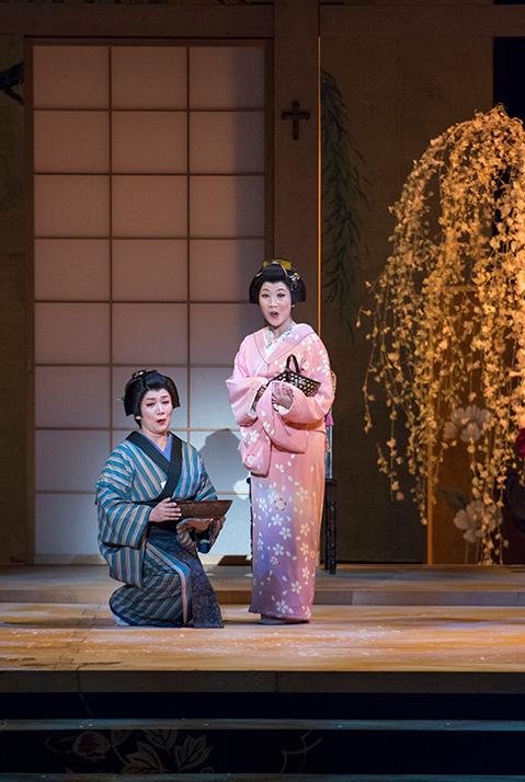 Mari Moriya - Cio-Cio San in MADAMA BUTTERFLY (Tokyo Nikikai Opera Theatre)