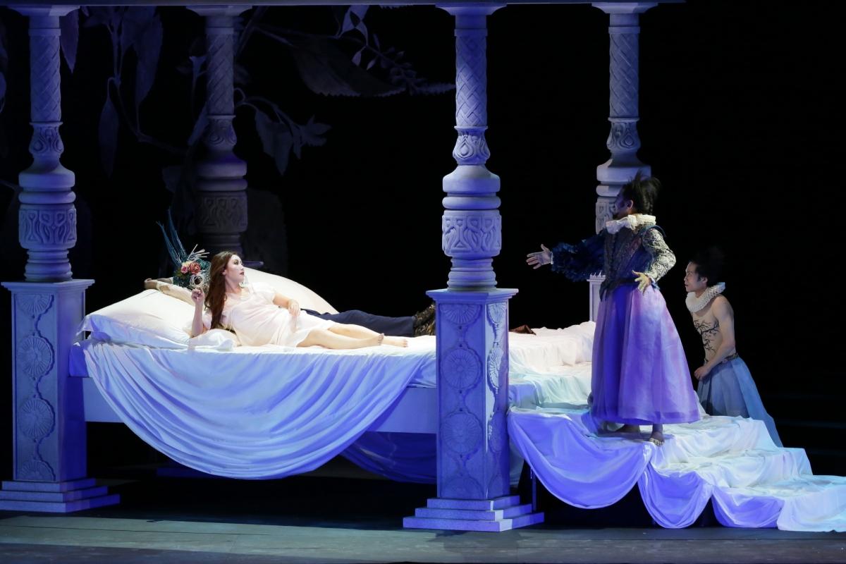 Mari Moriya - Titania in A MIDSUMMER NIGHT'S DREAM (Hyogo Performing Arts Center)