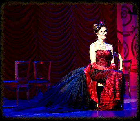 Valda Wilson - Hanna Glawari in DIE LUSTIGE WITWE (Oldenburgisches Staatstheater)
