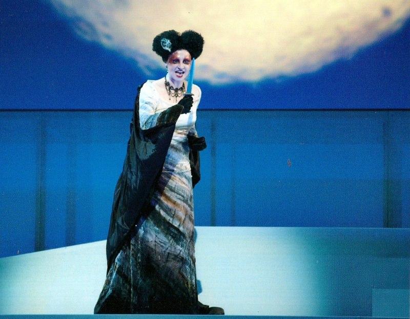 Juliet Petrus - Königin der Nacht in DIE ZAUBERFLÖTE (Austin Lyric Opera)