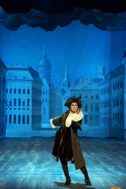 Xiaoyi Xu - Amstris in XERXES (Oper Graz)