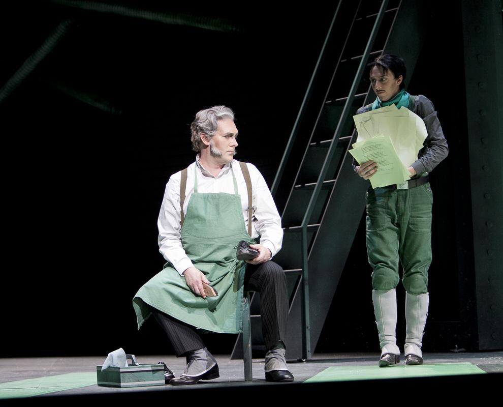Derrick Ballard - Hans Sachs in DIE MEISTERSINGER (Staatstheater Mainz)