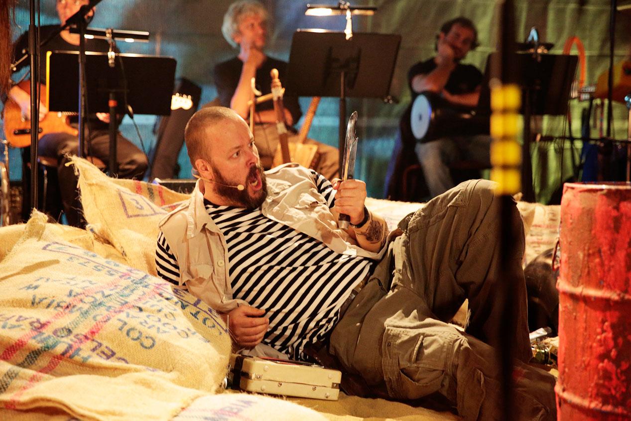 Markus Raab - Gonzo in TRANS MAGREHB (Bregenzer Festspiele)