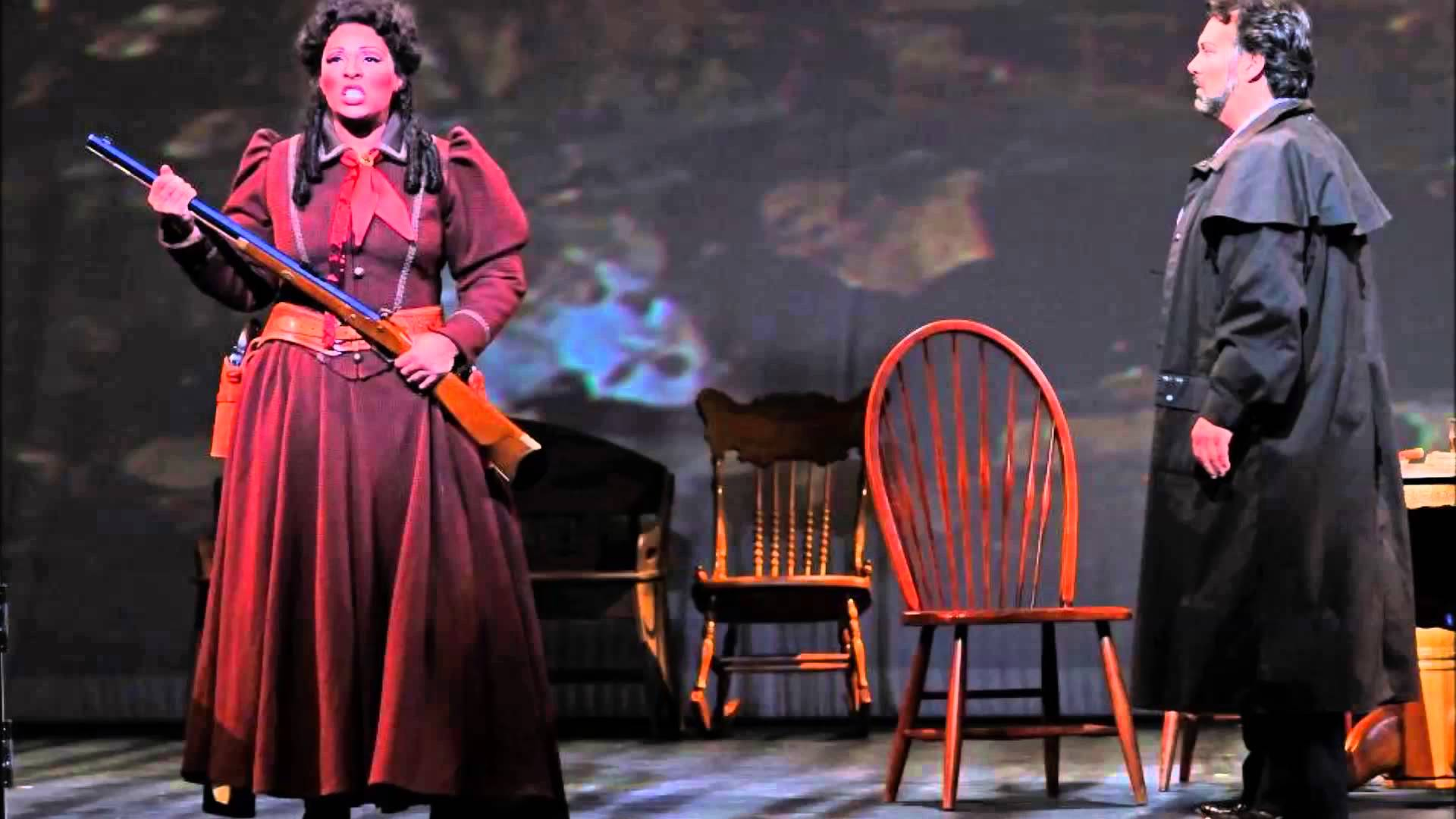Othalie Graham - Minnie in LA FANCIULLA DEL WEST (Indianapolis Opera)